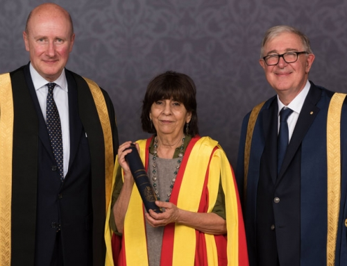 Professor Rita Giacaman receives an honorary doctorate from King's College London