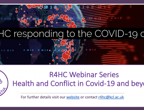 R4HC Webinar Series: Health and Conflict in Covid-19 and beyond