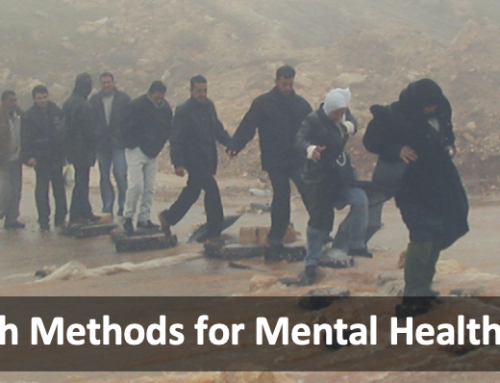 "Call for applications: Online Course  ""Qualitative Research Methods for Mental Health in War and Conflict"""