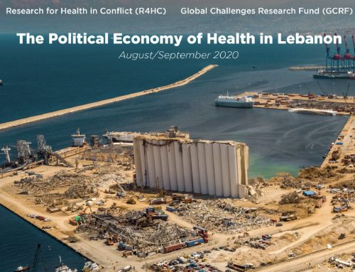 Lebanon – the failed state: how politics and policy shapes population health and wellbeing