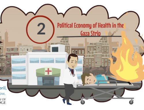New Public Engagement Resources on the Political Economy of Health in Gaza